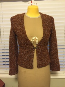 brown jacket